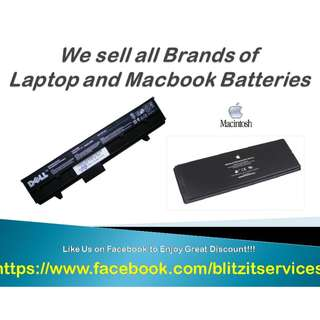 Mac and Laptop Battery Replacement