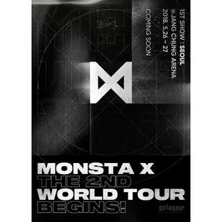 Monsta X 2nd WORLD TOUR