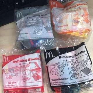 Mcdonalds happy meal Building Blocks