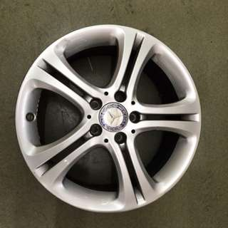 17 mercedes original wheel 4pc $250