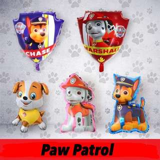 🐶 Paw Patrol party supplies - party balloons / party deco