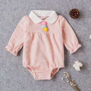 🐰Instock - Pom Pom romper, Nagy infant toddler girl children sweet kid happy ancdefg