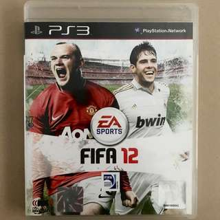 FIFA 12 - PS3; Playstation 3