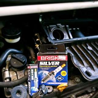 BRISK Silver super high performance spark plug