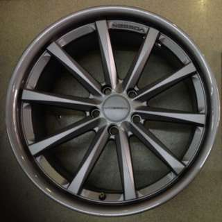 "20"" 5x120vossen original wheel 1 set 4pc $1000"