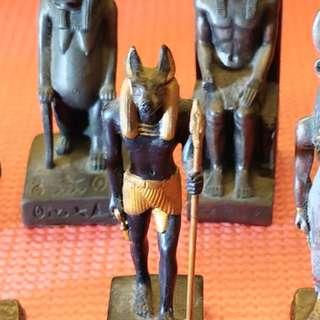 埃及神像擺設 x 9pcs