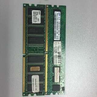 DDR 1 ram 512+256