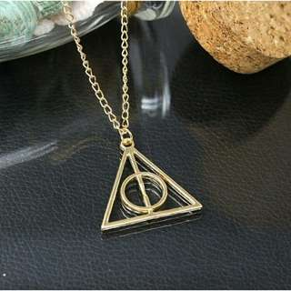 Harry Potter Deathly Hallow Pendant Necklace