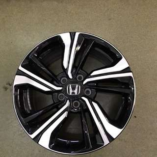 "17"" 5x114 honda civic original wheel 1 set 4pc $600"