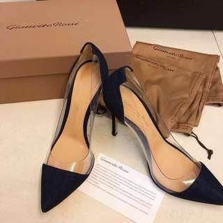 Brand New Denim Gianvito Rossi Heels 100% Original & Authentic