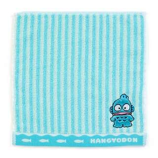 Japan Sanrio Hangyodon Petit Small Towel Handkerchief (Stripe)