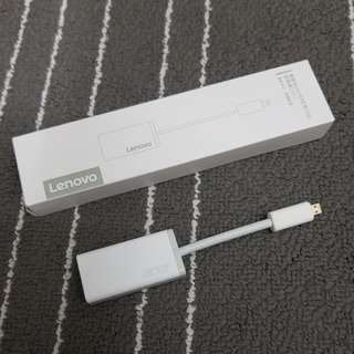 Lenovo Micro HDMI to VGA adaptor - Black