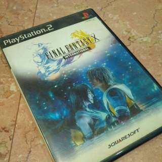 PS2 Final Fantasy X NTSC J international ver.