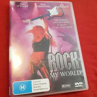 Rock my world DVD