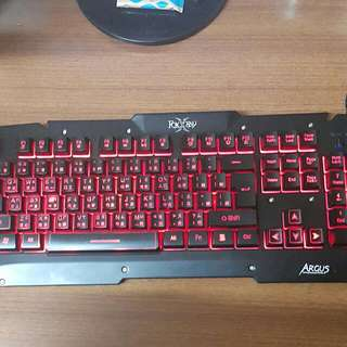百眼戰狐電競鍵盤 FXR-BKL-21 桌電 周邊