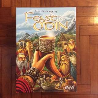Feast For Odin board game