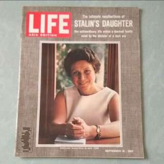 史太林女兒專訪 60年代雜誌