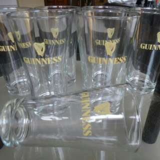 Guinness Stout beer glasses