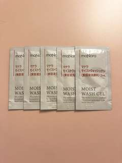 Manara Moist Wash Gel 2ml x 5