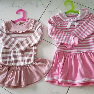 Autumn wear (girl, 3-4 years old, size110)