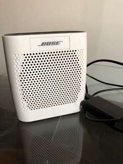 Bose Color Soundlink Portable Bluetooth Speaker