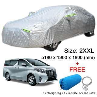2XXL Size FULL Car Cover Outdoor Sun Protection Dust Protect Car Hatchback