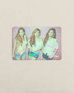 少時 TaeTiSeo  Yes Card