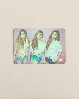 少時 TaeTiSeo  Yes Card
