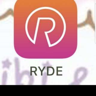 Ryde $4 referral code (onging)