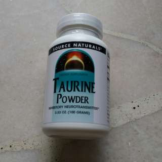 Source Naturals - Taurine Powder (100g / 3.53oz)