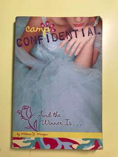 Camp confidential storybook