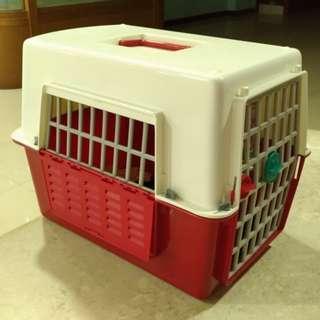 寵物運輸提籠-小型寵物適用 附水壺 貓籠 狗籠 寵物籠