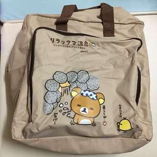 二手 新淨鬆池熊旅行袋