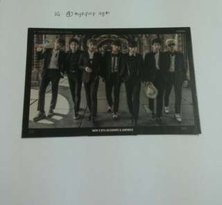 BTS NOW2 STANDEE
