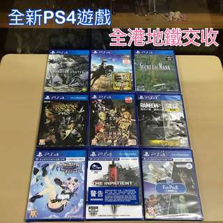 PS4 全新遊戲
