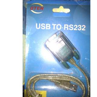 USB to RS232 cable