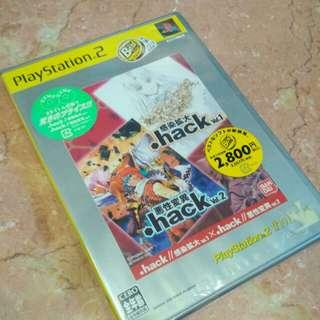 PS2 Hack vol. 1 & vol. 2 NTSC J