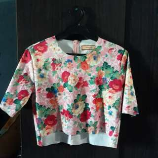 Hanging Blouse Floral