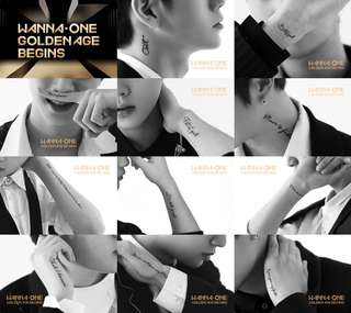 [NON-PROFIT GO] WANNA ONE GOLDEN AGE ALBUM