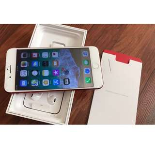 Apple iPhone 7 plus red edition 128GB