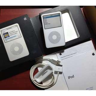 5.5th gen 80gb ipod classic white box not astell kern fiio