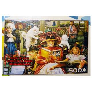 Jigsaw Puzzle - 500 pieces - Cat And The Hat