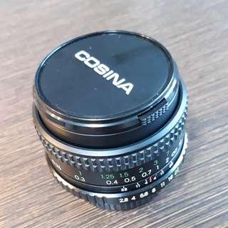 Cosina macro lens