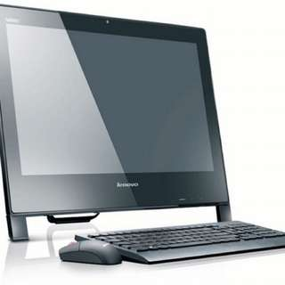 Lenovo ( IBM ) EDGE all in one pc full set, slim n stylish design with wireless keyboard n mouse and full office (2 piece avilable)
