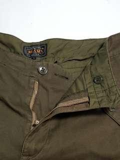 MILITARY/HUNTING pants by BEAMS.