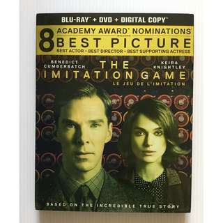 The Imitation Game Blu Ray + DVD