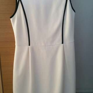 White Dress for Office or Casual