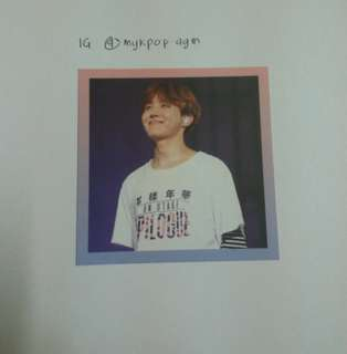 [RARE] BTS JHOPE EPILOGUE OFFICIAL PHOTOCARD