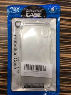 apple iphoneX case 日本直送 新品 透明保護軟 case  #25