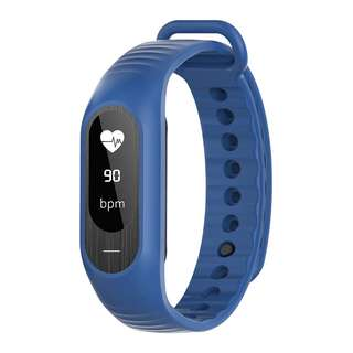 SKMEI Jam Tangan LED Gelang Fitness Tracker - B15P - Dark Blue